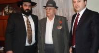 Награждение Алхасова Михаила – ветерана, юбилейной медалью Победы